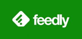 Logotip del lector d'RSS Feedly