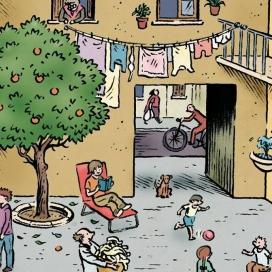 Fem Escala planteja propostes com la creació d'espais agradables per la comunitat (imatge: femescala.coop)