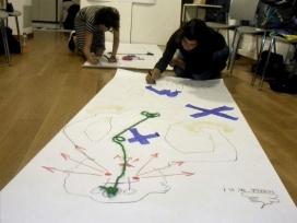 Un dels tallers en el marc del projecte