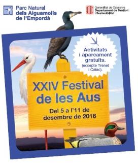 Del 5 a l'11 de desembre se celebra el Festival de les Aus al  Parc Naturals dels Aiguamolls de l'Emporda (imatge: Parc Natural Aiguamolls Empordà)