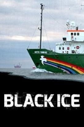 Els fets de l'Arctic Sunrise de Greenpeace, al film Black Ice (imatge: blackicemovie.net)