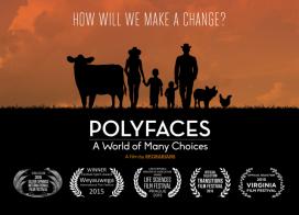 Polyfaces és una pel·lícula sobre les opcions que es poden prendre per connectar amb la terra i la comunitat. (imatge: polyface)