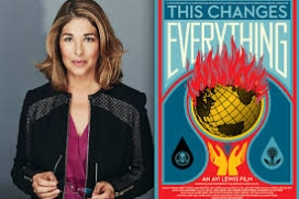 This changes Everything de Naomi Klein, al Ficma 2015 (imatge:thischangeseverything)