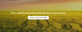 Imatge de la pàgina web de Food Tank. Font: Food Tank