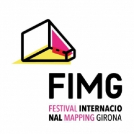 Cartell Festival Mapping de Girona. Font: Web del FIMG. Llicència: Tots els drets reservats