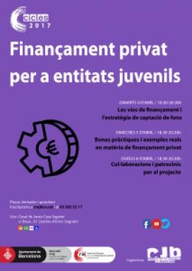 Cartell del Cilce de finançament privat - Foto: Flickr
