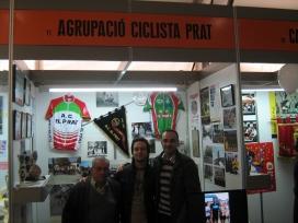 Mostra d'entitats a la Fira del Gall del Prat de Llobregat.