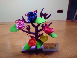 Flors contra la leucèmia. Font: Pàgina de Facebook de Flors contra la leucèmia