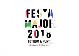 El logotip de la festa major de Vilafranca 2018 és fruit d'un procés de concreació entre persones usuàries de l'Espiga i l'equip de disseny de Giny Comunicació