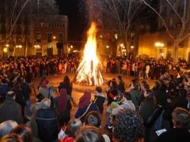Des del 1992 es celebren els Foguerons de Sa Pobla a Gràcia.