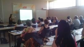 Sessió formativa de professorat del passat 7 de juliol (Font: Observatori per a la Igualtat de la URV)