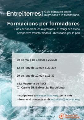 Formació per a formadores sobre migracions i refugi al Mediterrani