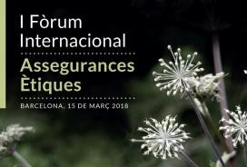 El 15 de març se celebra a Barcelona el I Fòrum Internacional de les Assegurances.