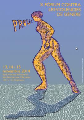 Cartell del X Fòrum contra les violències de gènere