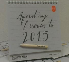 El calendari de Projecte Home Catalunya 2015
