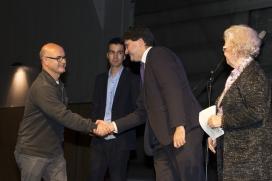Entrega de premis de l'edició 2015 del Premi Lluís Martí