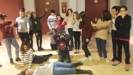Imtage del projecte Actuem!       Font: ImpactaT Intervencions Teatrals