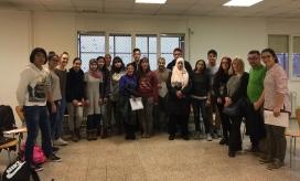 Han estat quinze els nois i noies d'entre 15 i 17 anys seleccionats en el programa - Foto: Carta de la Pau