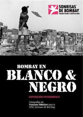 Cartell Exposició 'Bombay en Blanco y Negro'