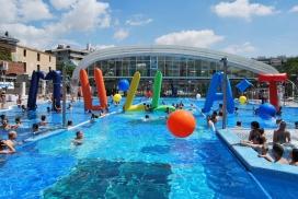 Imatge d'una piscina celebrant la jornada del Mulla't