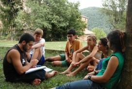 Campaments de Fundesplai. Font: Fundació Catalana de l'Esplai