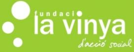 Logotip de la Fundació La Vinya