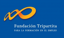 Logotip Fundacion Tripartita. Font web Fundación Tripartita