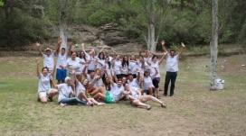 """Camp de treball de """"Jo_Ven! DiSueña y Construye tu Comunidad"""". Font: Plana web de la Fundació Esplai"""