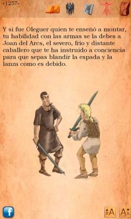GBX Sant Jordi és un llibre-joc ambientat en l'època de Sant Jordi
