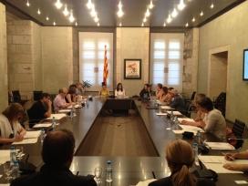 Reunió de la Comissió Interdepartamental per a la Igualtat Efectiva de Dones i Homes