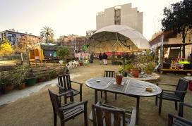 A l'Espai Autogestionat Germanetes s'hi realitzen activitats per a la dinamització social del barri i l'aprofitament de l'espai públic (imatge: Espai Germanetes)