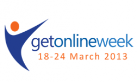 Logotip del Get Online Week 2013