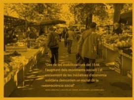 El primer número dedica un reportatge a l'esclat de l'economia social. Font: Giràdia