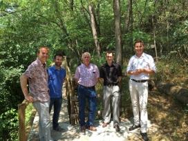 """Millora de la """"Ruta del Ter"""" al seu pas per Osona, amb l'ajut de la Fundació Girbau (imatge: aiguesvic.com)"""