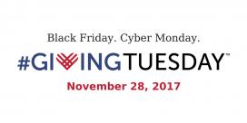 El Giving Tuesday és una resposta solidària a propostes consumistes com el Black Friday.