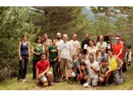 Des de fa 15 anys els voluntaris i les voluntàries del Grup de Natura Solsonès  del Centre d'Estudis Lacetans aporten informació ambiental a la comarca (imatge: Grup de Natura Solsonès)