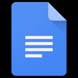 Logotip de Google Docs.