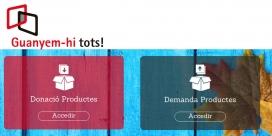 El programa Guanyem-hi tots! facilita l'accés d'estocs d'empreses i particulars a les entitats que ho necessitin