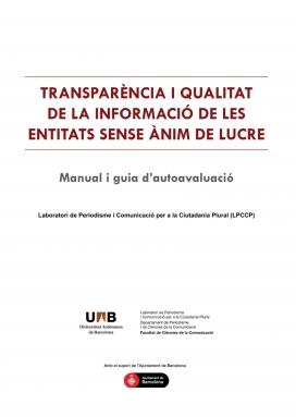 Guia de transparència publicada per LPCCP-UAB