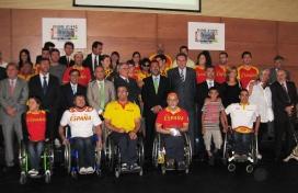 Els participants als JJPP de Londres 2012 i les autoritat