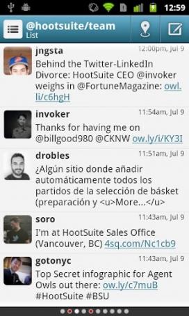 Hootsuite et permet escriure a les diferents xarxes socials.