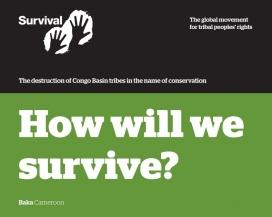 "Portada de l'informe ""How will we survive?""."