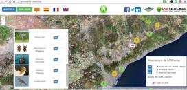 És important ajudar a identificar les espècies invasores i localitzar-les al mapa, cosa que es pot fer amb IAS Tracker (imatge: IasTracker)