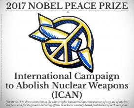 La campanya ICAN ha rebut Premi Nobel de la Pau 2017.