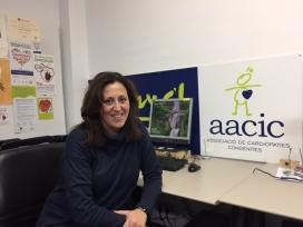 Rosana Moyano, psicòloga i coordinadora de voluntariat d'AACIC-Cor Avant (Font: FCVS)