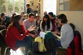 Grup de joves participant