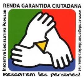 Logotip de la comissió promotora de l'ILP per a la renda garantida