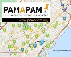 Mapa Pam a Pam