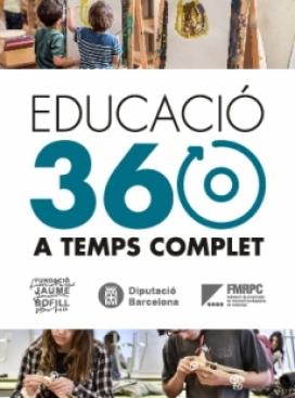 """Cartell de la iniciativa """"EDUCACIÓ360. Educació a temps complet"""""""