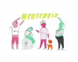 Imatge de la campanya anomenada #CosCreix